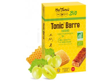 MelTonic Etui Tonic'Barre BIO - Raisin Miel