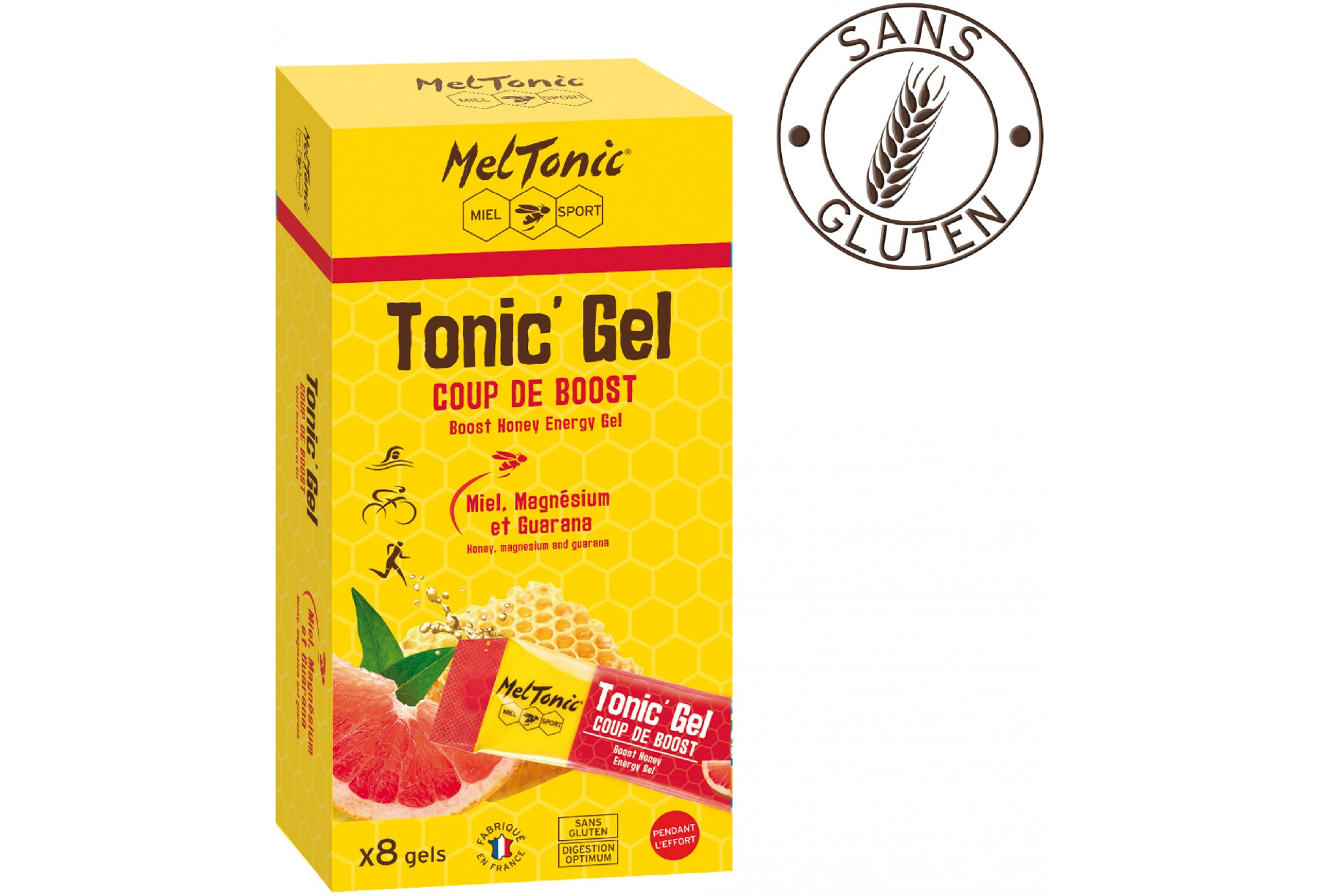 MelTonic Caja Tonic'Gel Coup de Boost Diététique Gels