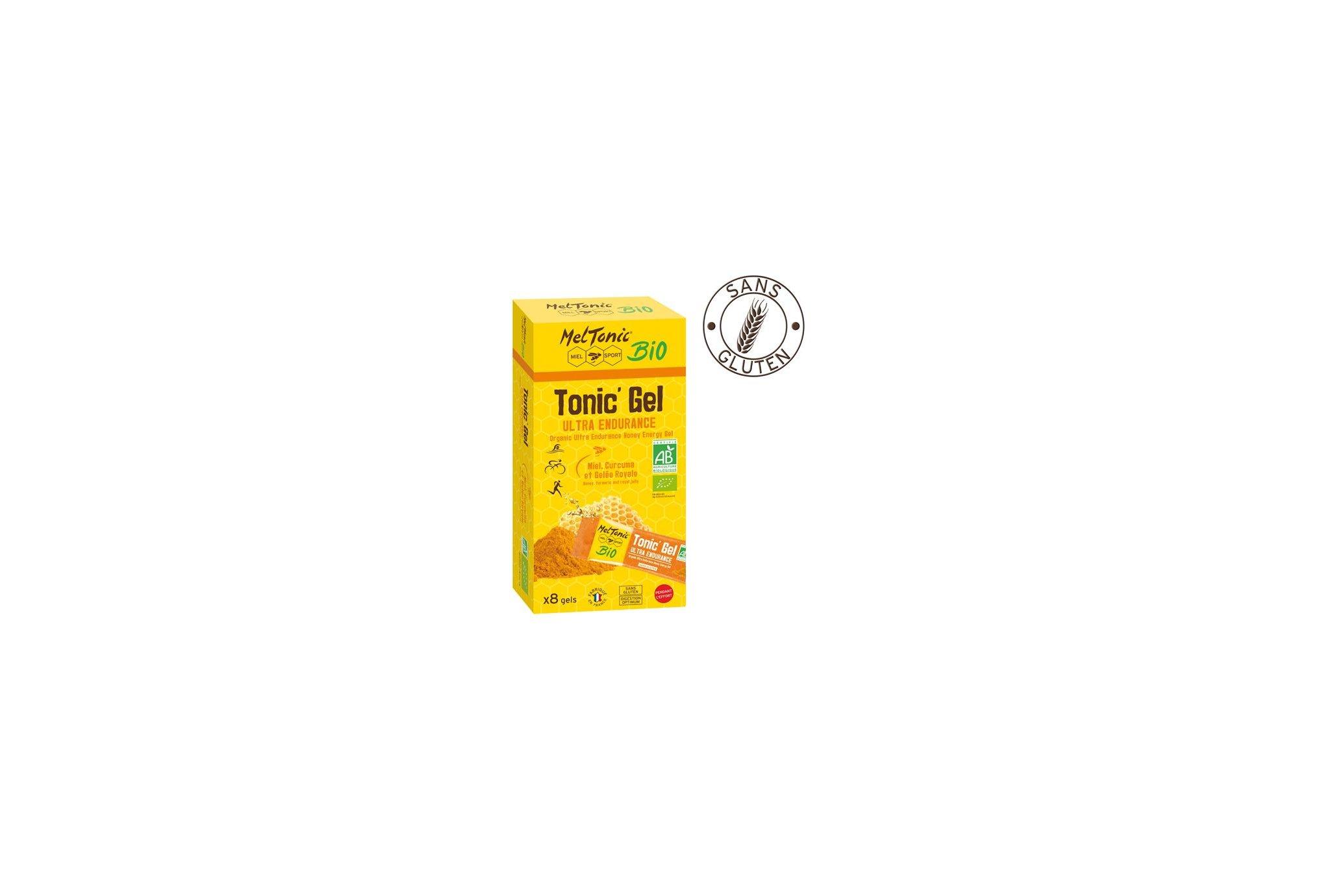 Meltonic Étui tonic'gel ultra endurance bio diététique gels