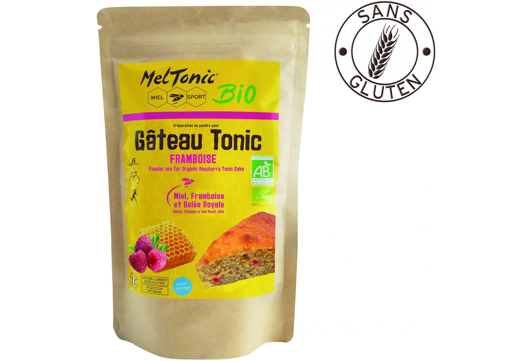 MelTonic Gâteau Tonic Bio - Framboise Miel Diététique Préparation