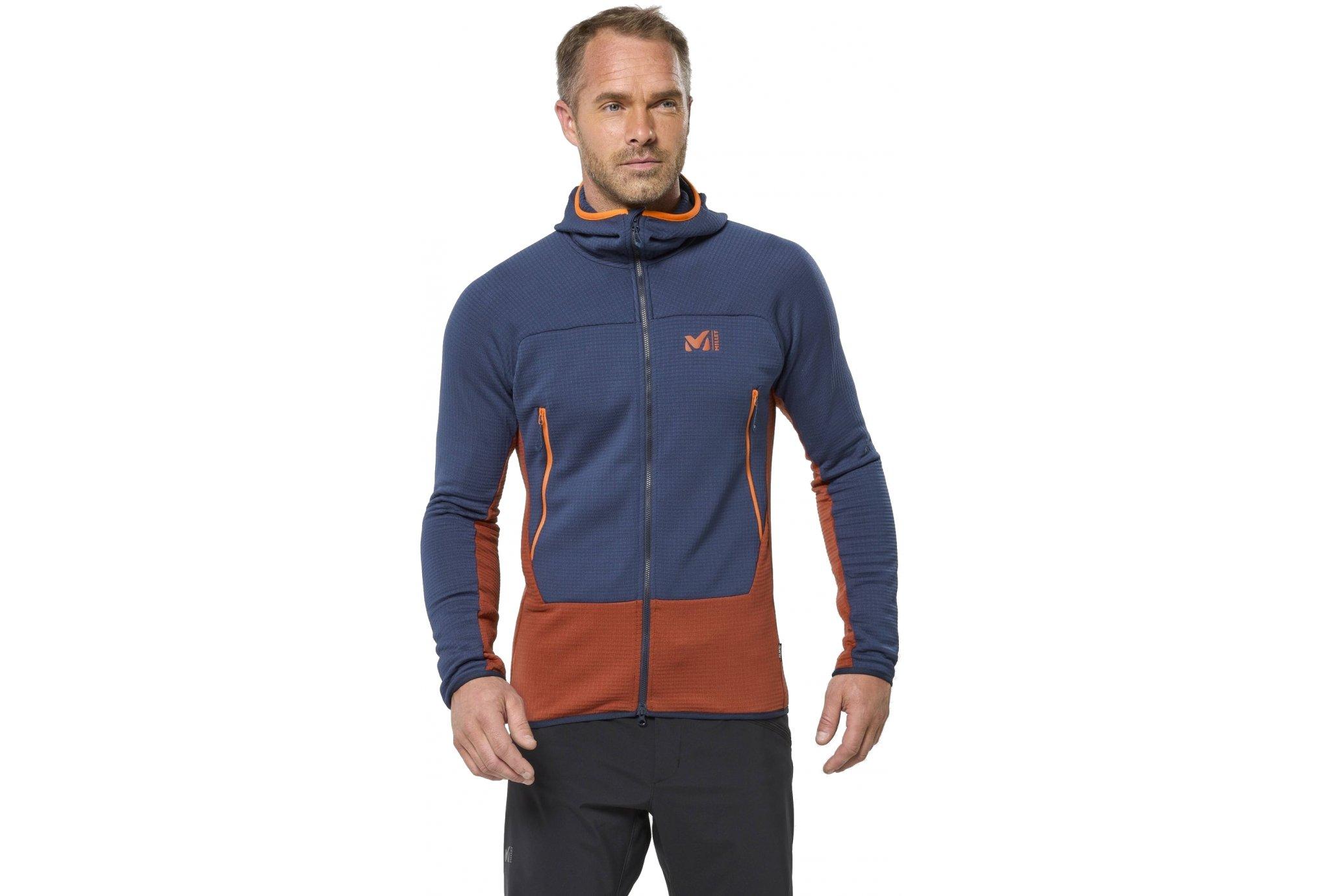 Millet Fusion Grid M vêtement running homme
