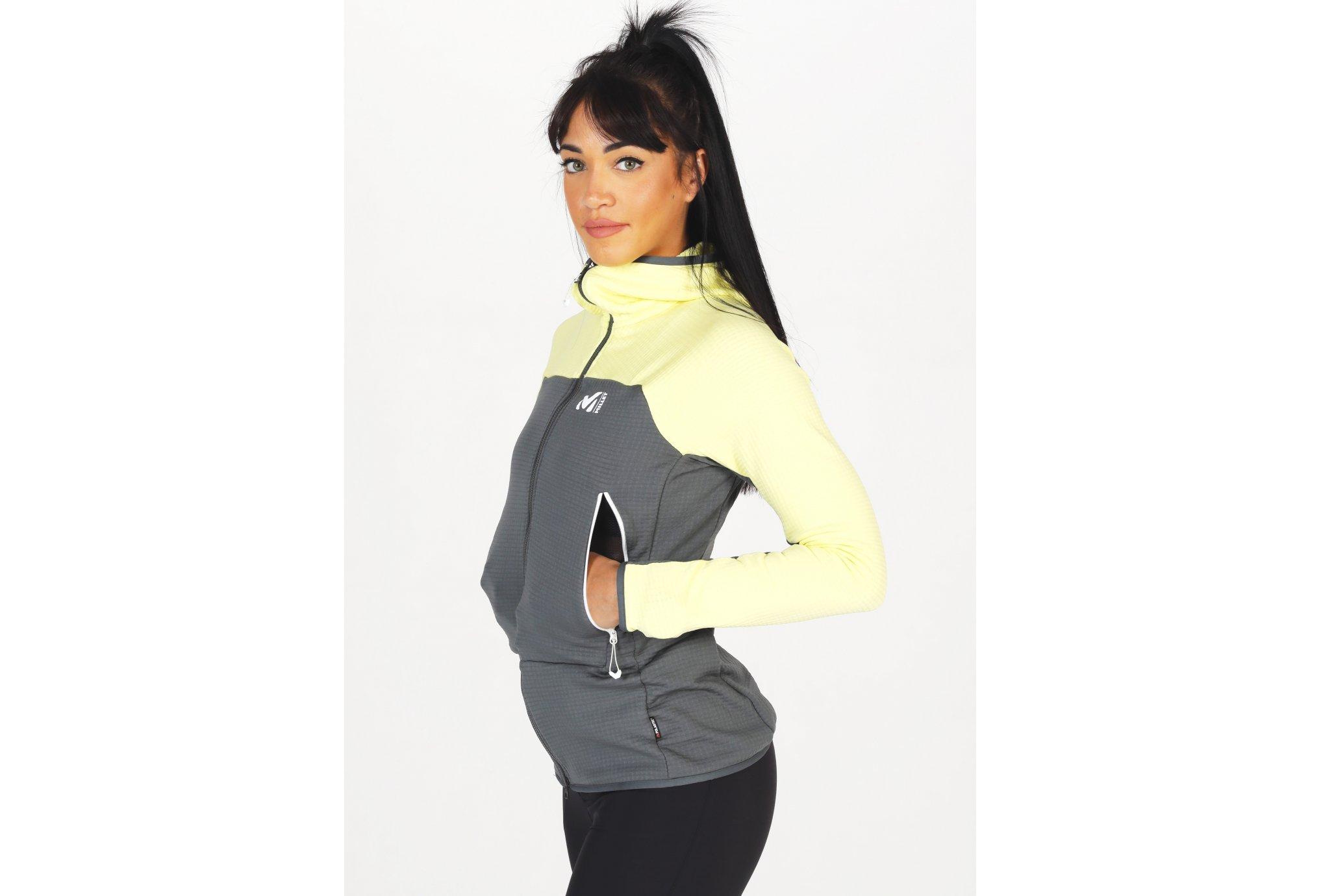 Millet Fusion Grid W vêtement running femme