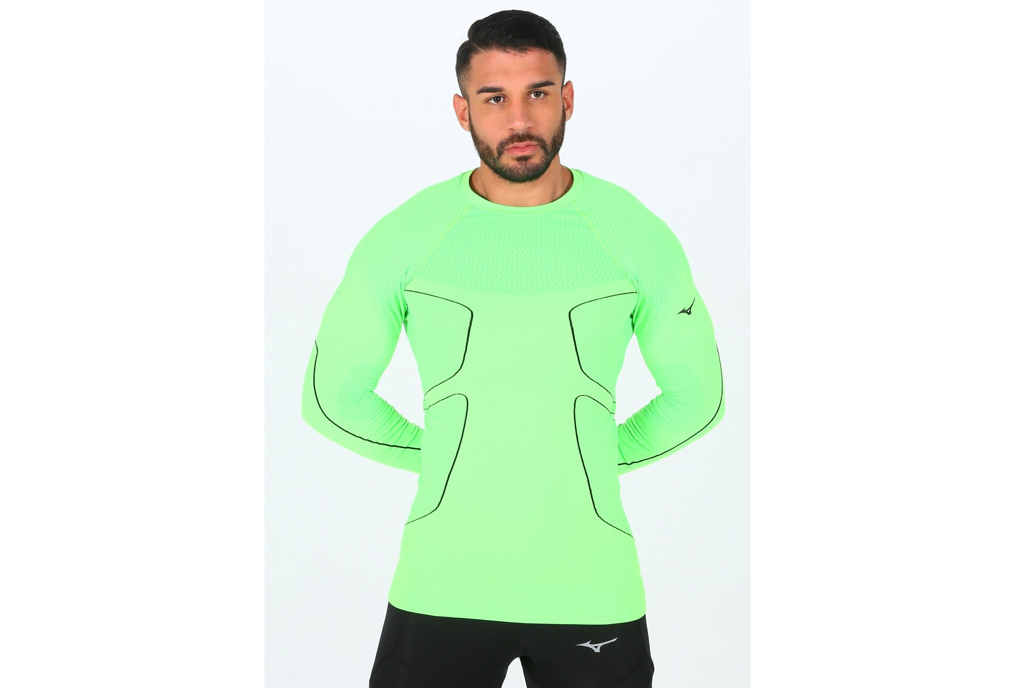 Mizuno BG Base Layer M vêtement running homme