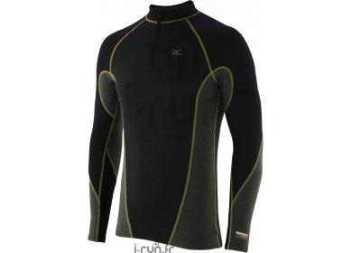 Mizuno Breath Thermo L S 1 2 Zip Middle Weight Virtual Body pas cher ... e430b6f388f