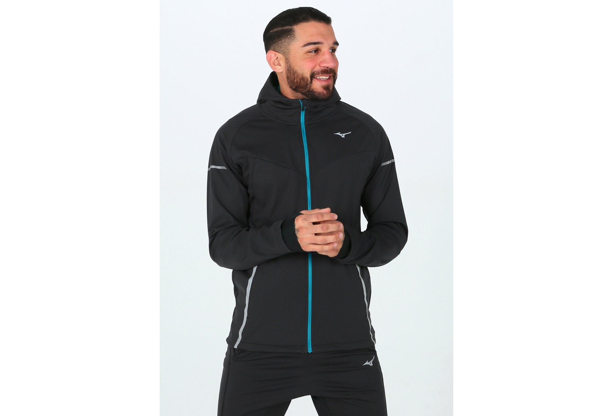 Mizuno Hineri BT Softshell M vêtement running homme
