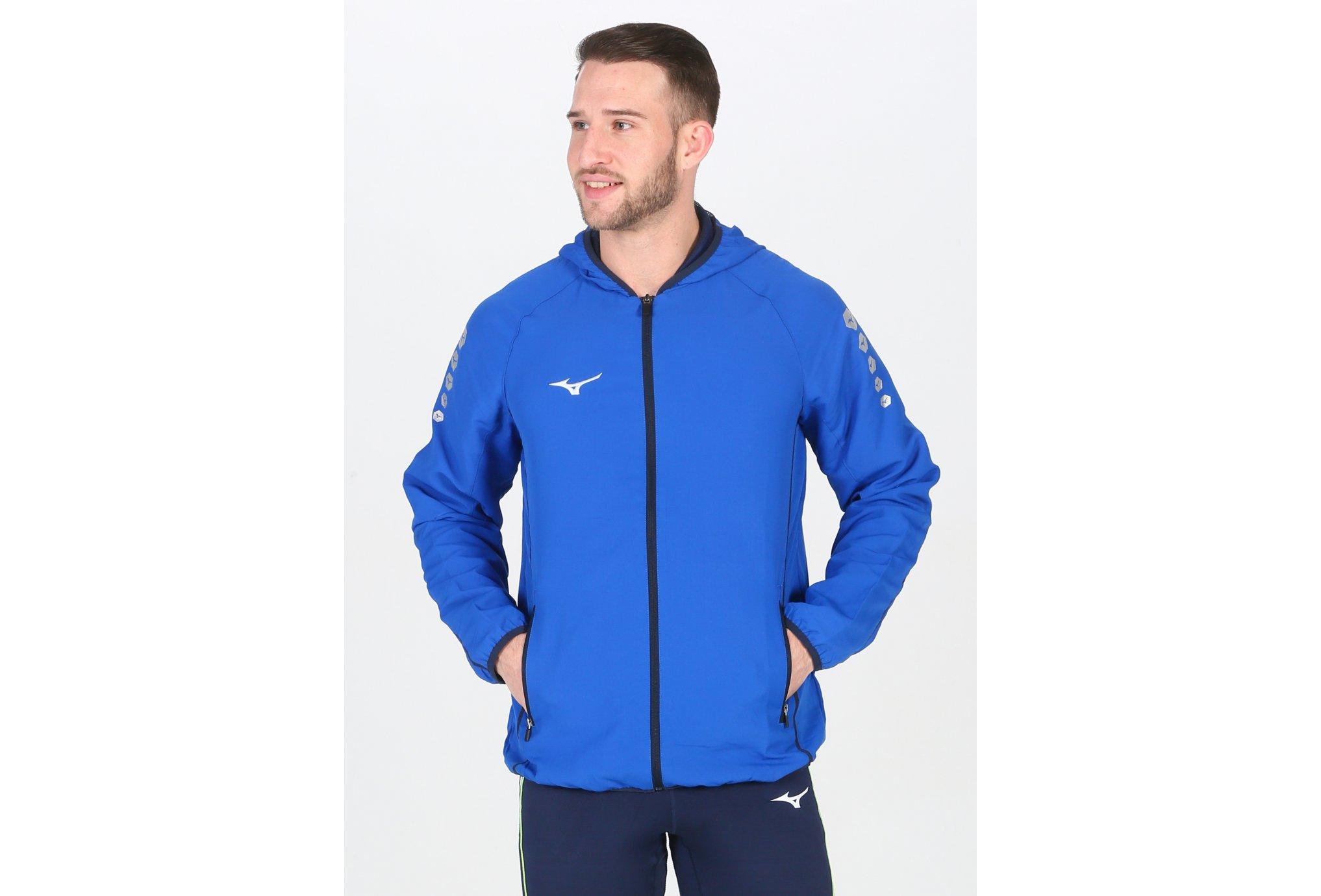 Mizuno Micro Jacket M vêtement running homme
