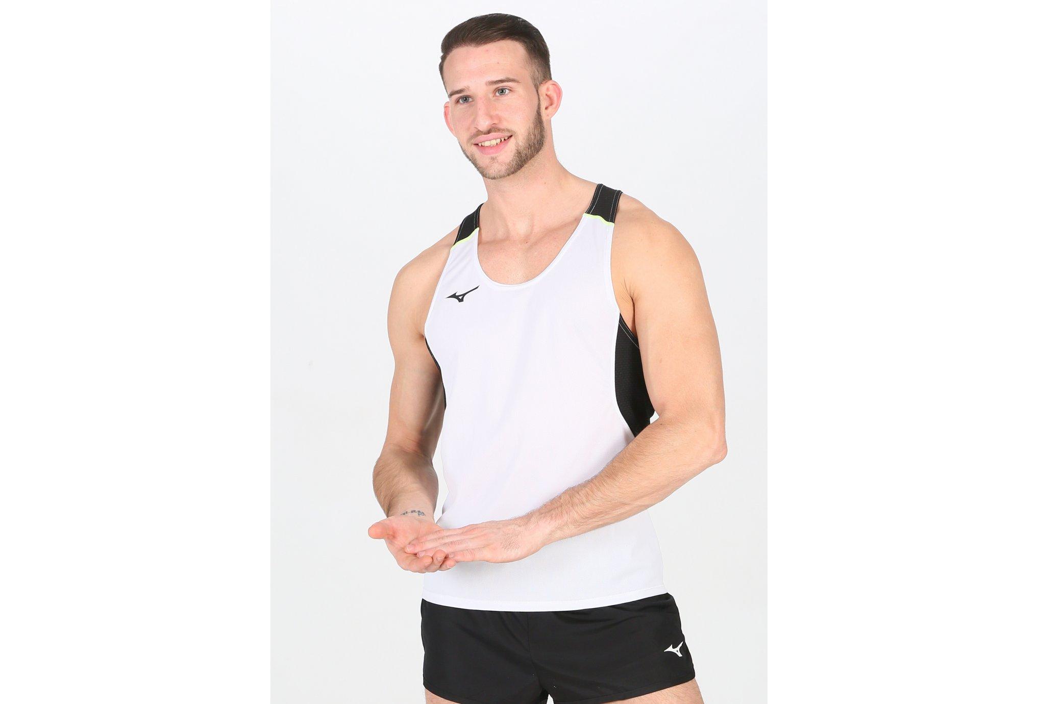 Mizuno Premium Singlet M vêtement running homme