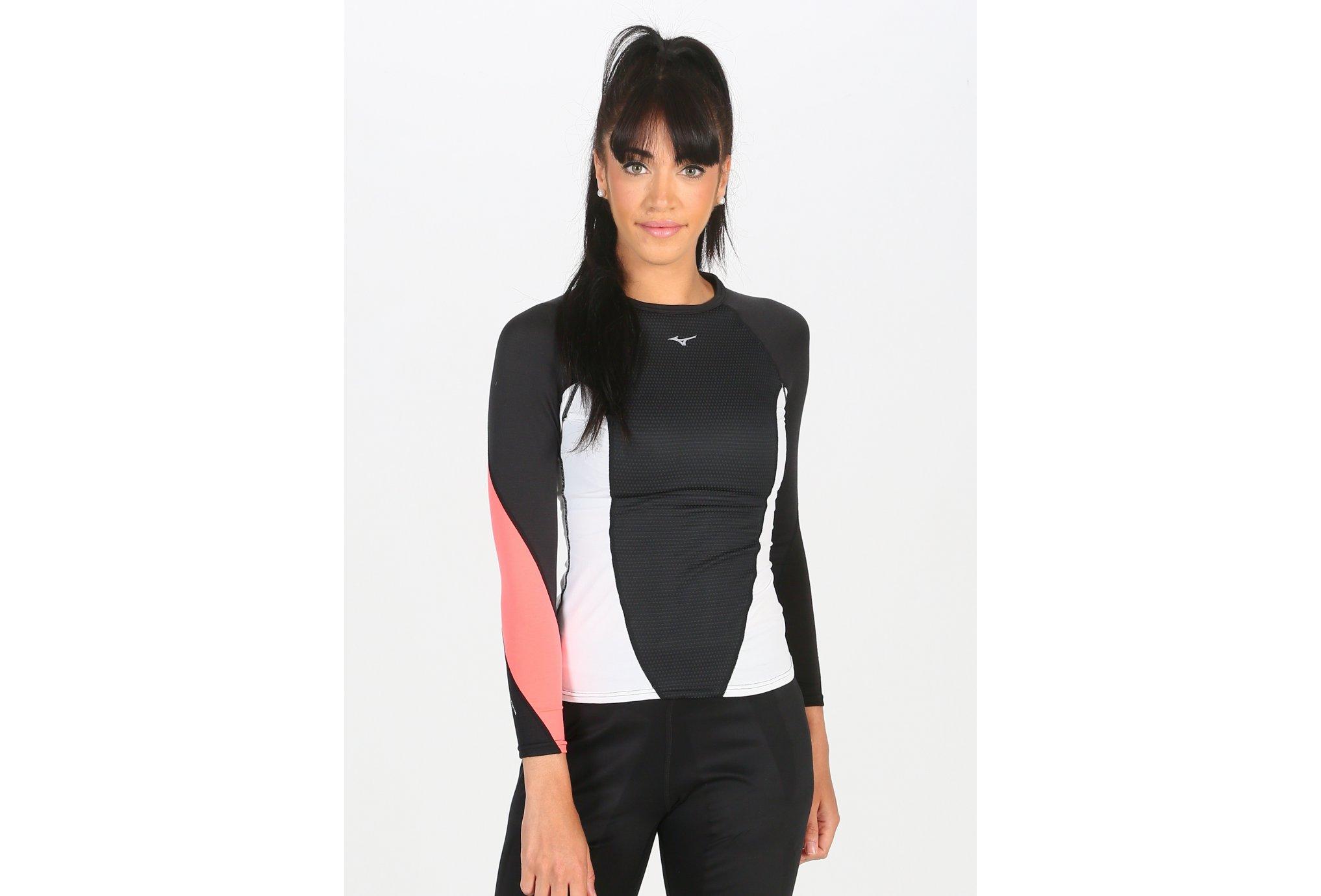 Mizuno Virtual Body G1 Crew W Diététique Vêtements femme