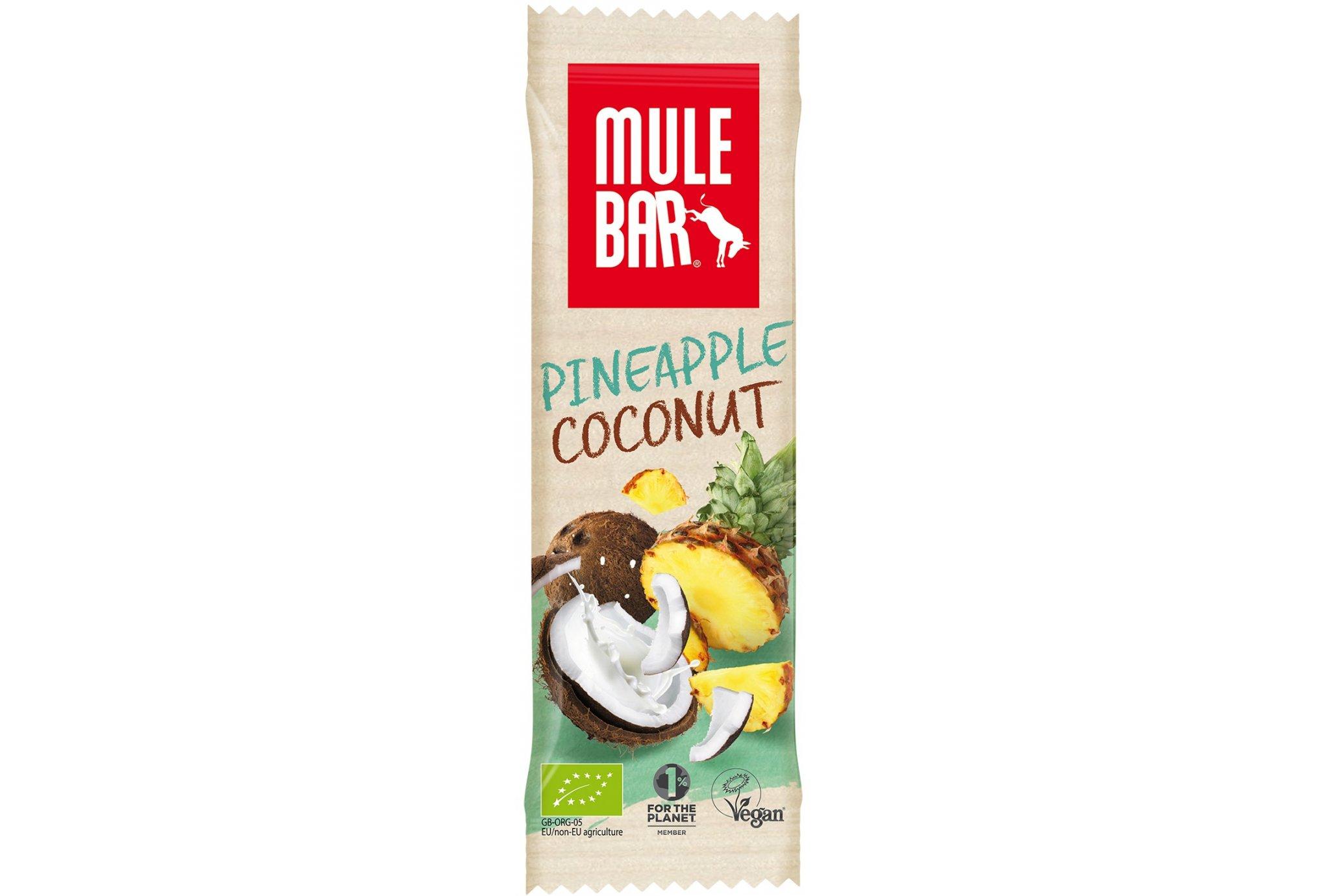 Mulebar Barre énergétique Bio & Vegan - Ananas/Noix de Coco Diététique Barres
