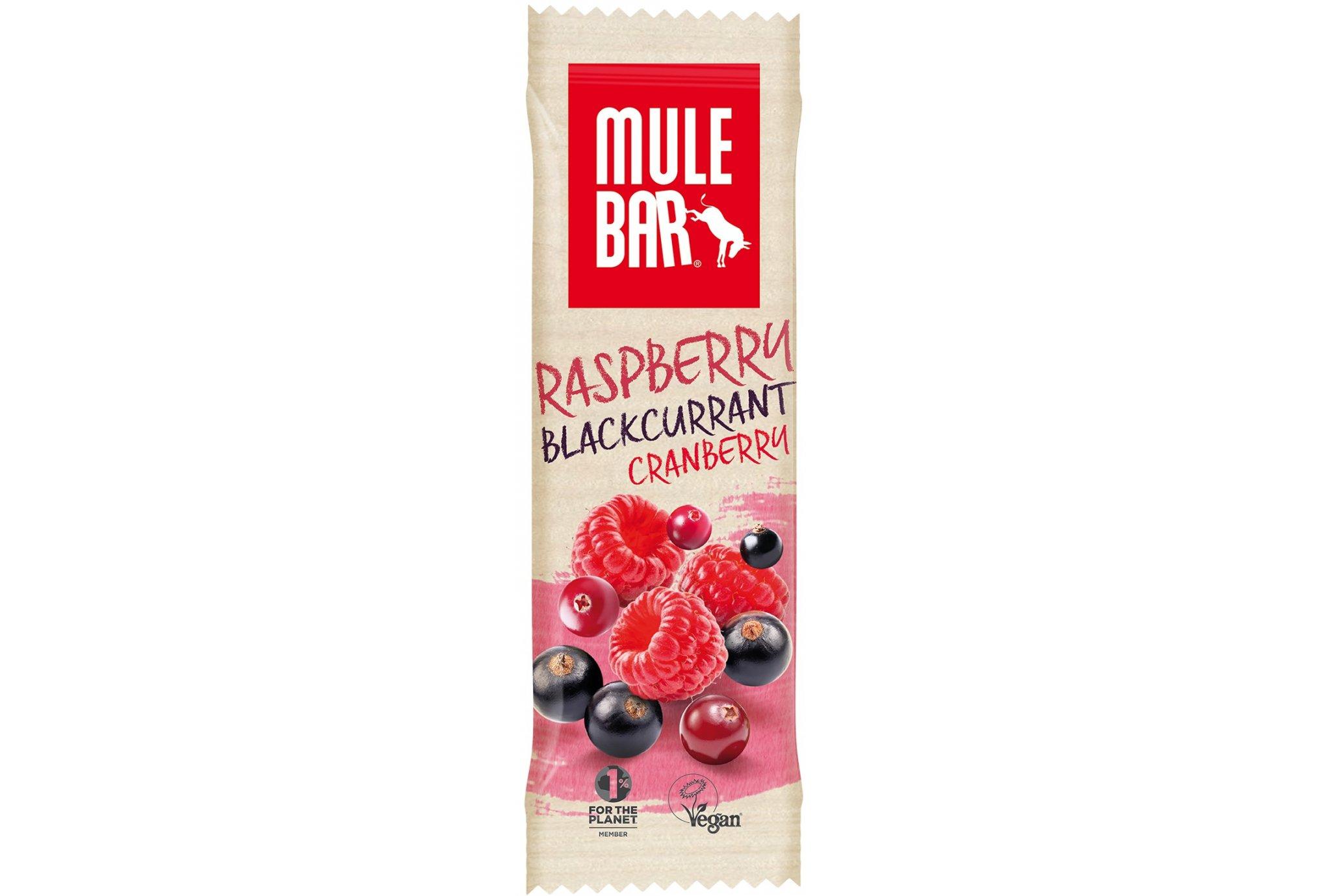 Mulebar Barra energética Summer Pudding- Frutos rojos Diététique Barres