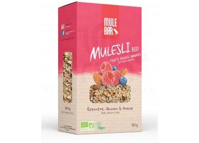 Mulebar Mulesli Fruits Rouges Amandes Bio