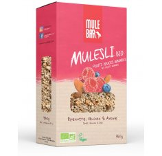 Mulebar Mulesli Fruits Rouges Amandes Bio