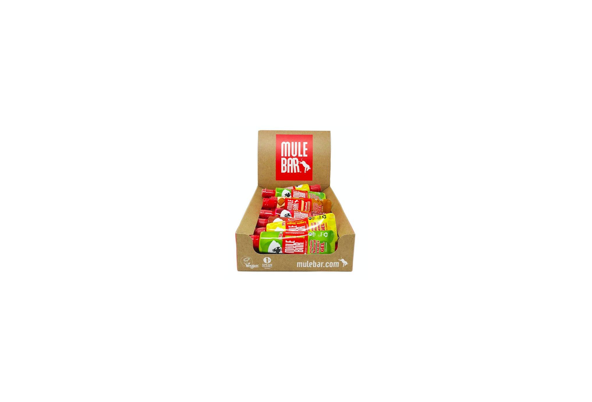 Mulebar Pack Gels énergétiques Multi-Parfums Diététique Packs