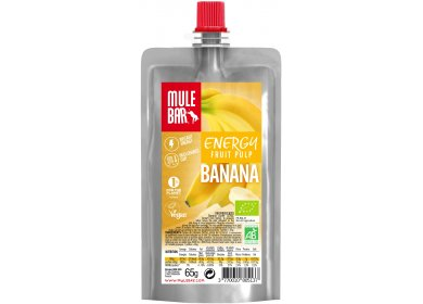 Mulebar Pulpe de fruits Bio & Vegan - Banane