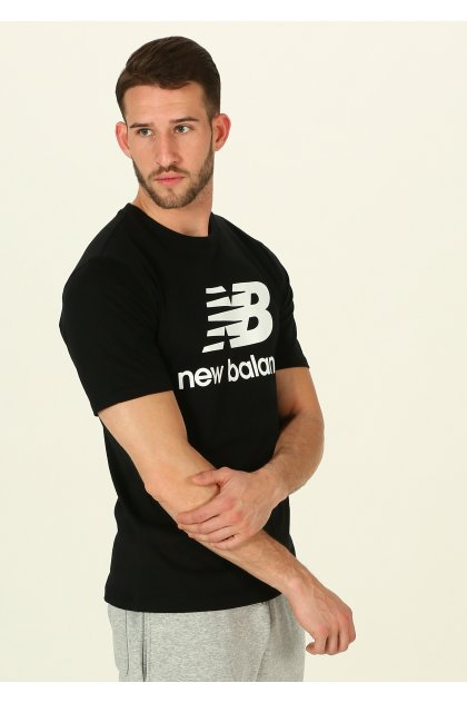 New Balance Camiseta manga corta Essentials Stacked