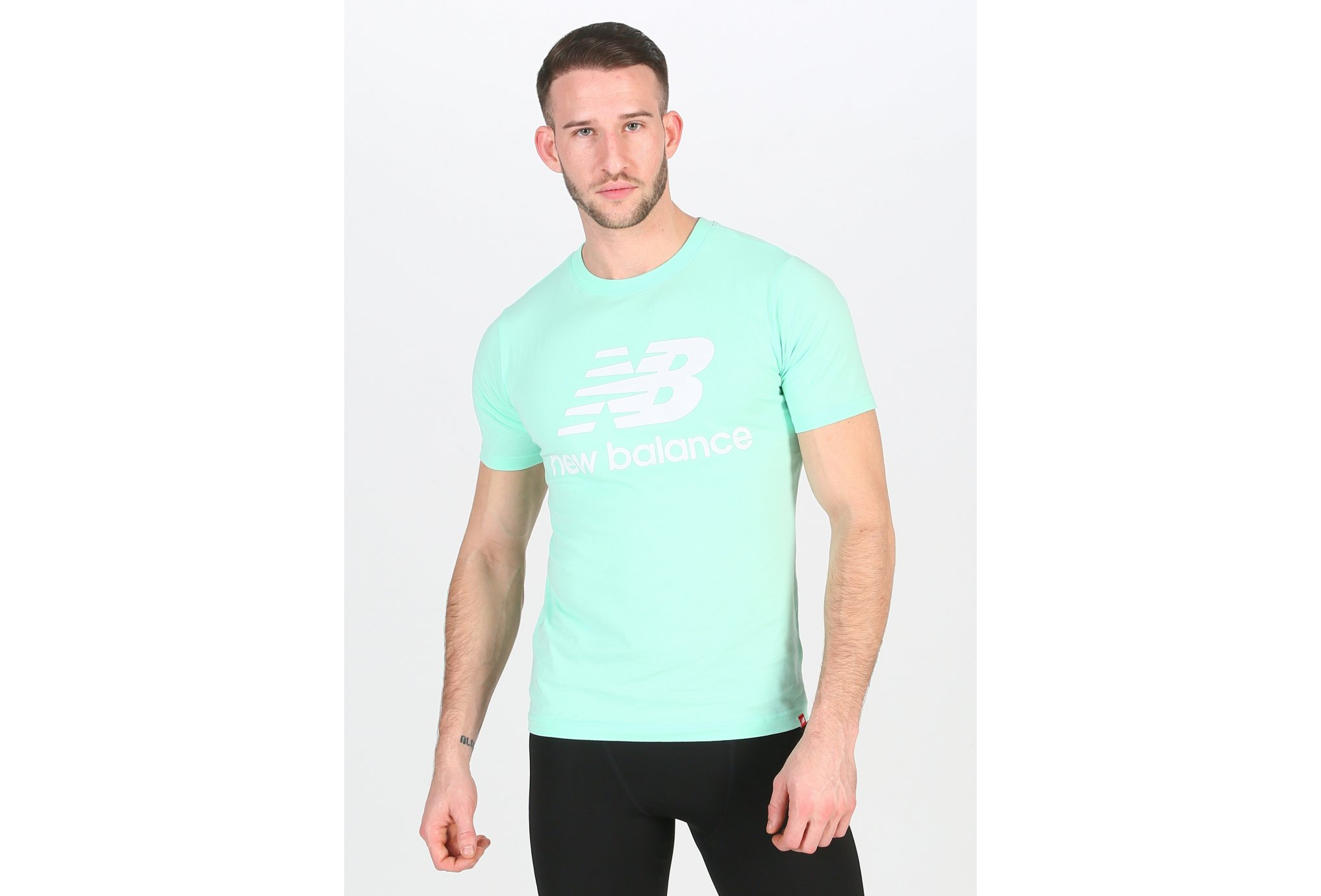 New Balance Essentials Stacked M vêtement running homme