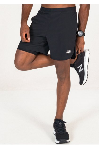 New Balance pantalón corto Fast Flight 2 en 1