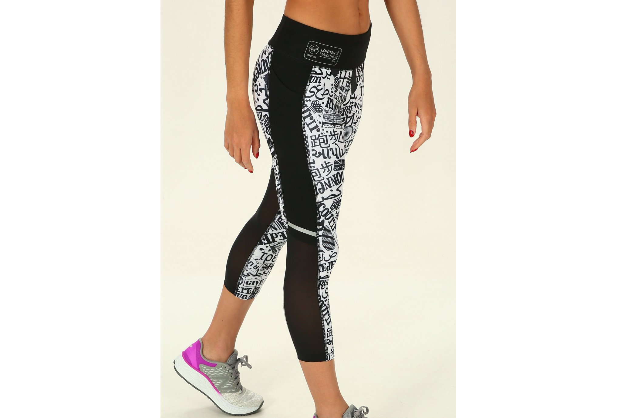 New Balance Impact Print London W vêtement running femme