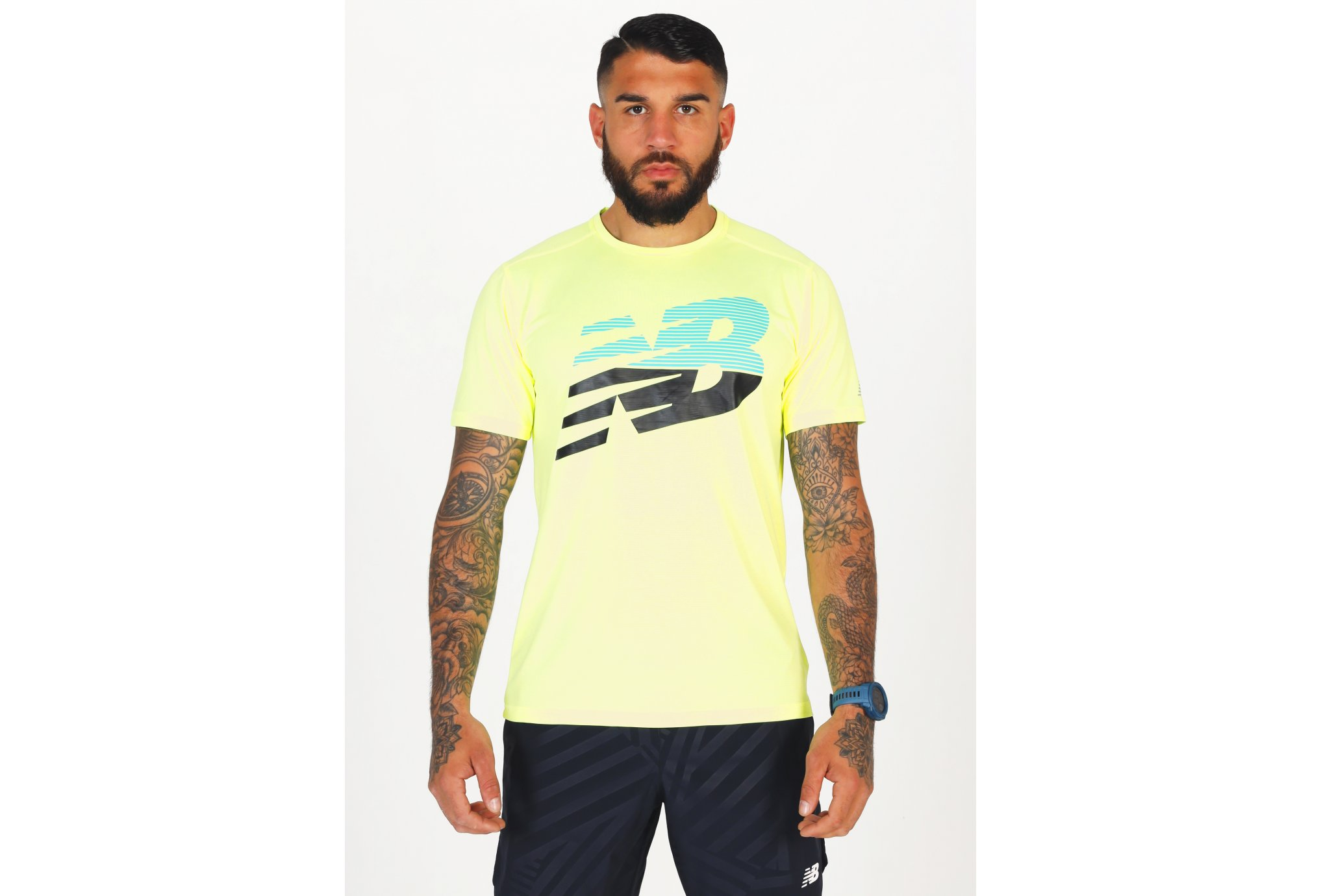 New Balance Printed Accelerate M vêtement running homme