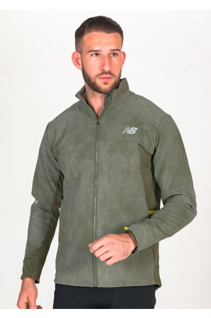 New Balance chaqueta Reflective Impact Run Winter
