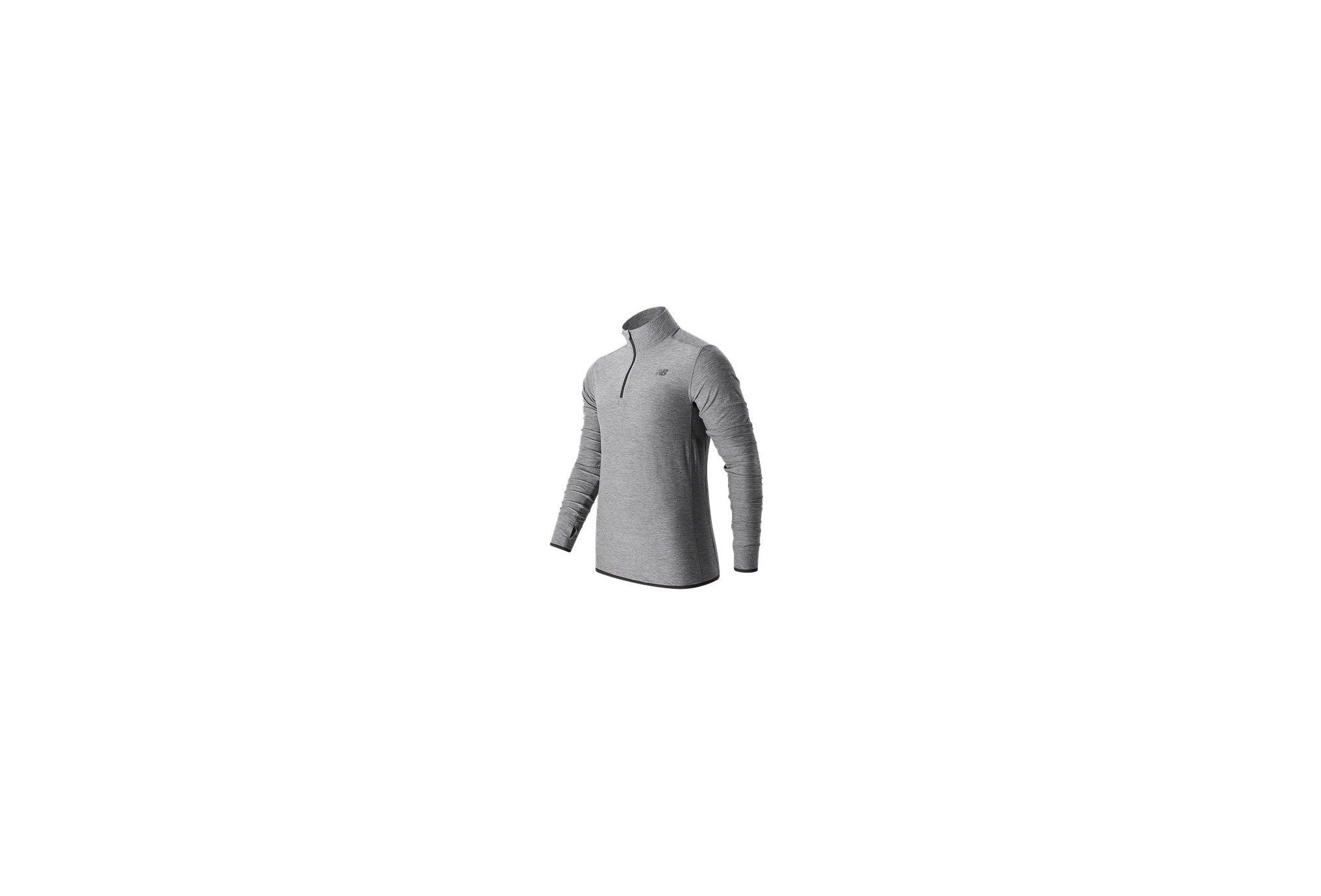 plus récent 2f279 ea3b6 La Fortifiée - New Balance Transit Quarter Zip M vêtement ...