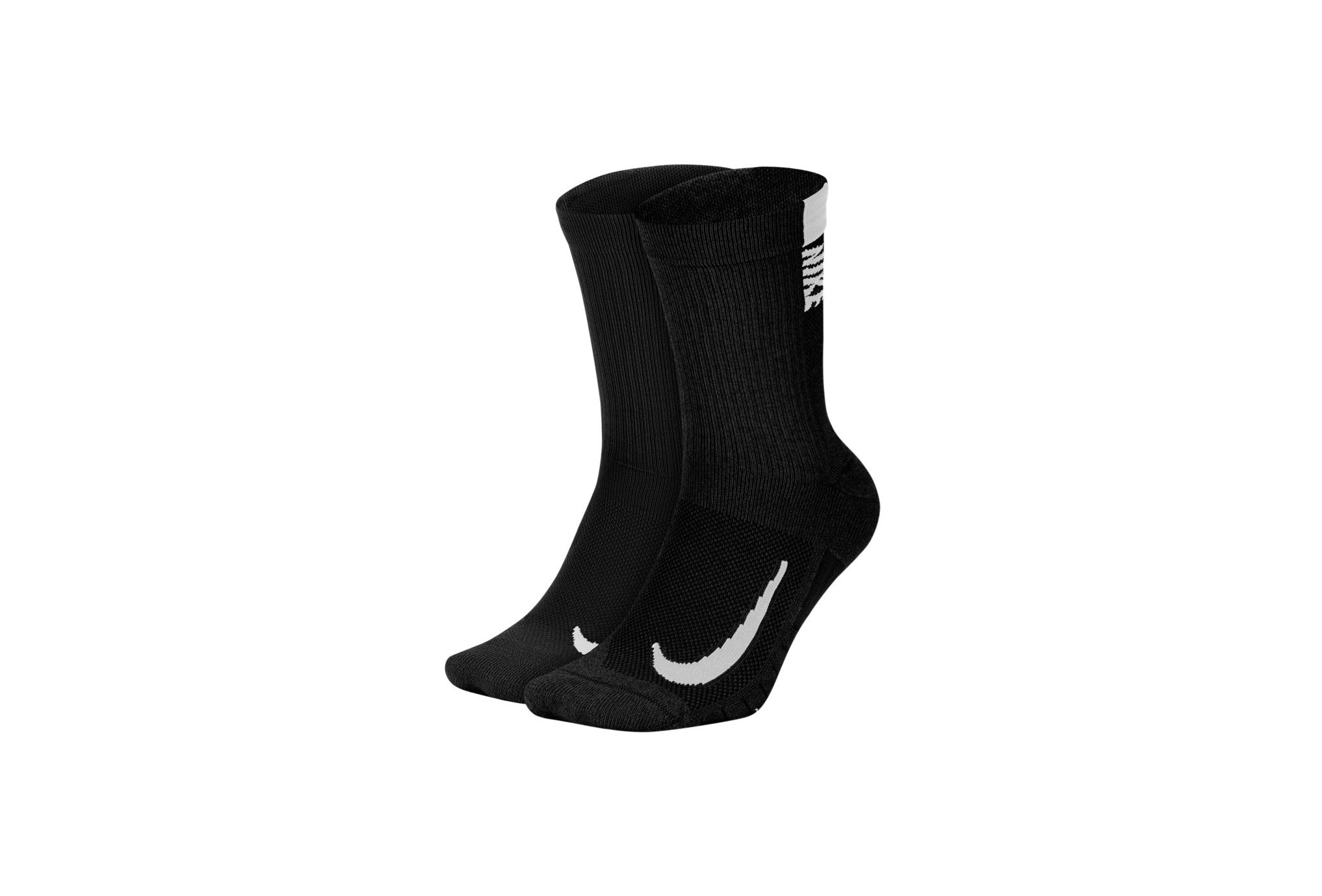 Nike 2 paires Multiplier Crew Chaussettes