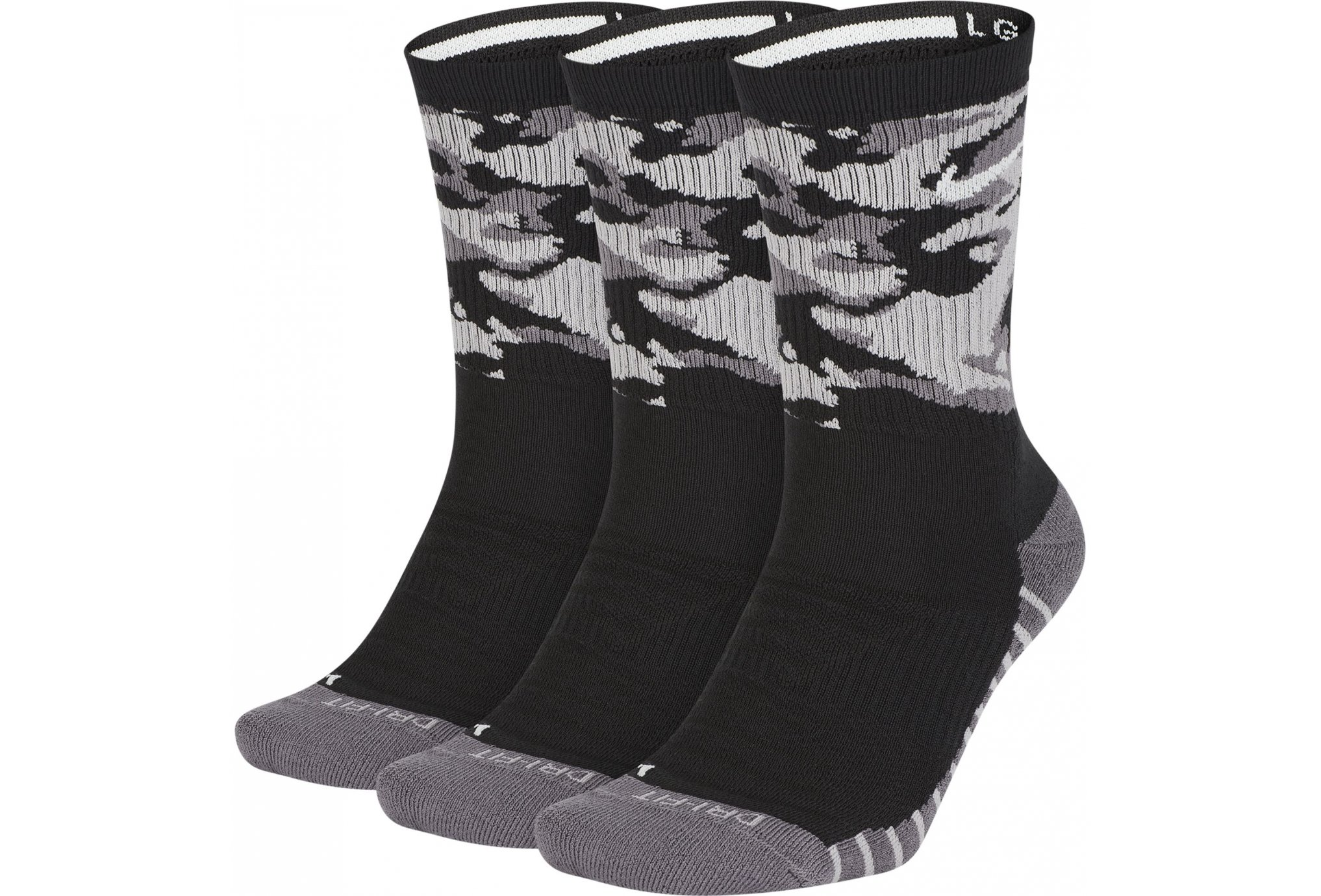Nike 3 paires Dry Cushioned Crew Chaussettes