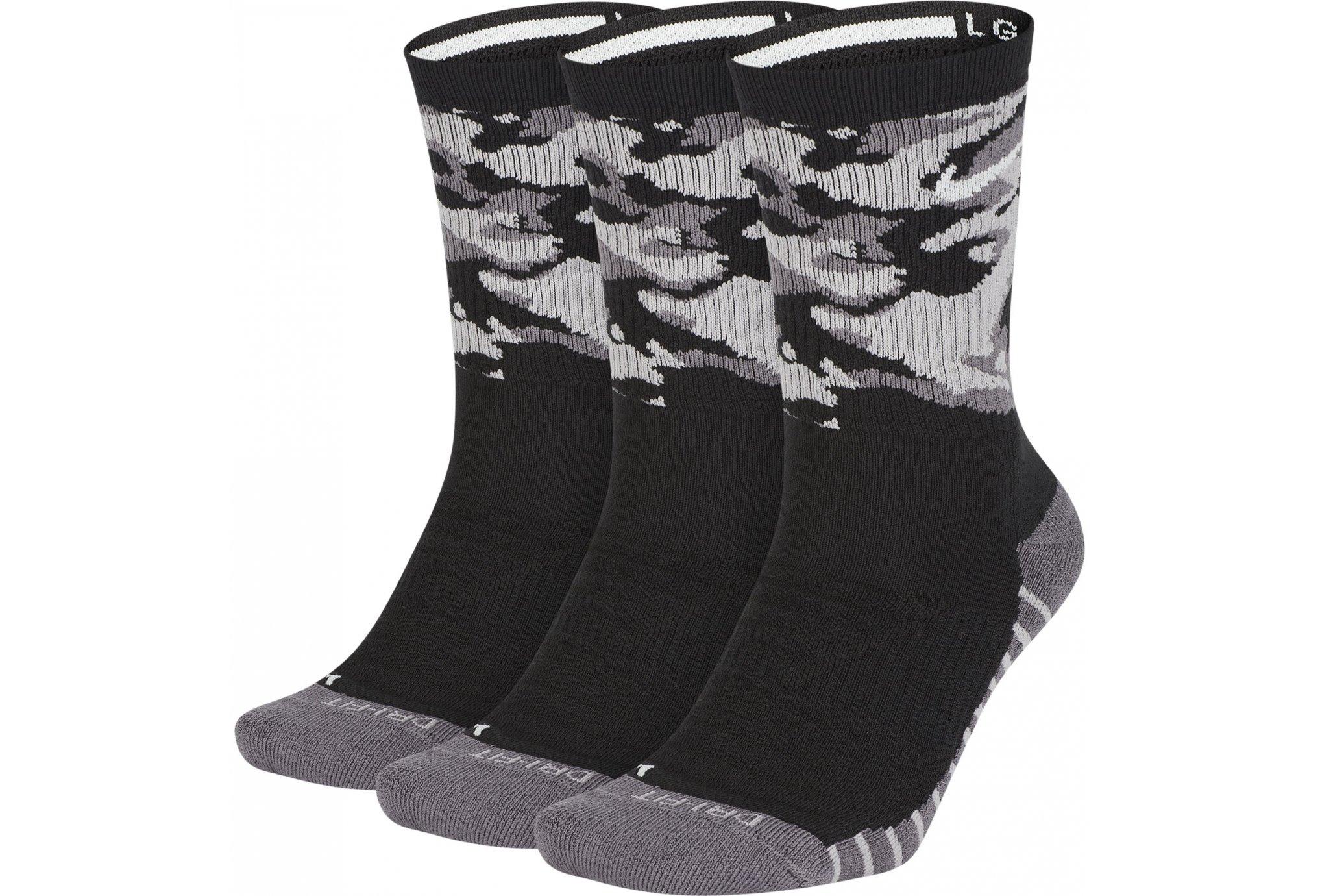 Nike 3 paires Dry Cushioned Crew Diététique Accessoires