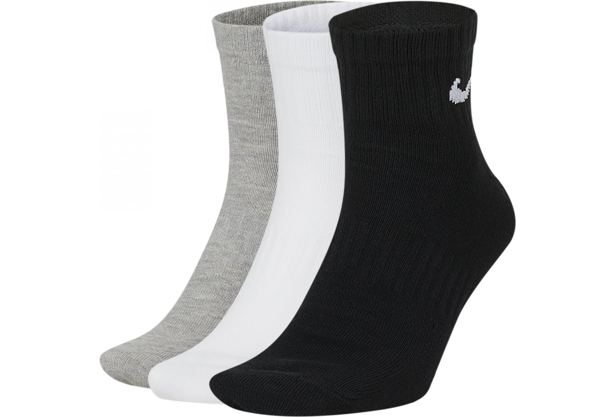 Nike 3 paires Everyday Lightweight Ankle Chaussettes