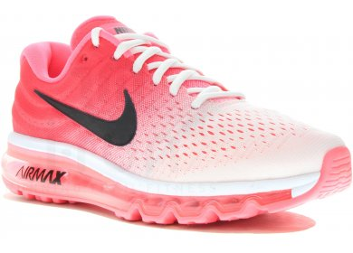 chaussure de running nike air max 2017 rose