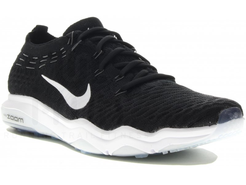 brand new f9667 51070 Nike Air Zoom Fearless Flyknit Lux W femme Noir pas cher