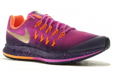 sneakers for cheap ac8f8 ad828 Nike Air Zoom Pegasus 33 Shield GS femme Rose pas cher
