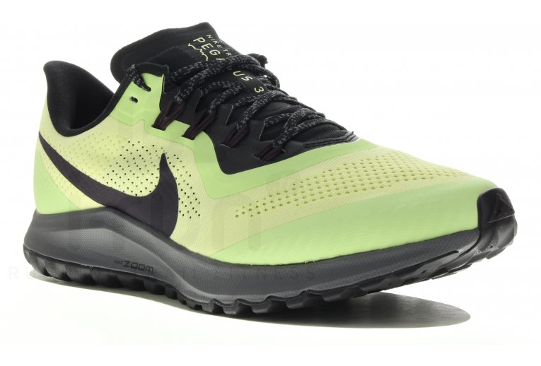Nike Air Zoom Pegasus 36 Trail Womens Running Shoe oil .