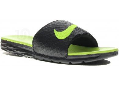 972d7631abb Nike Benassi Solarsoft M homme Noir pas cher