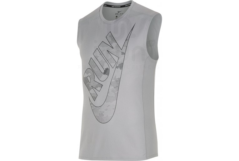 fd116cdc98839 Nike Camiseta sin manga Breathe Cool Miler Print en promoción ...