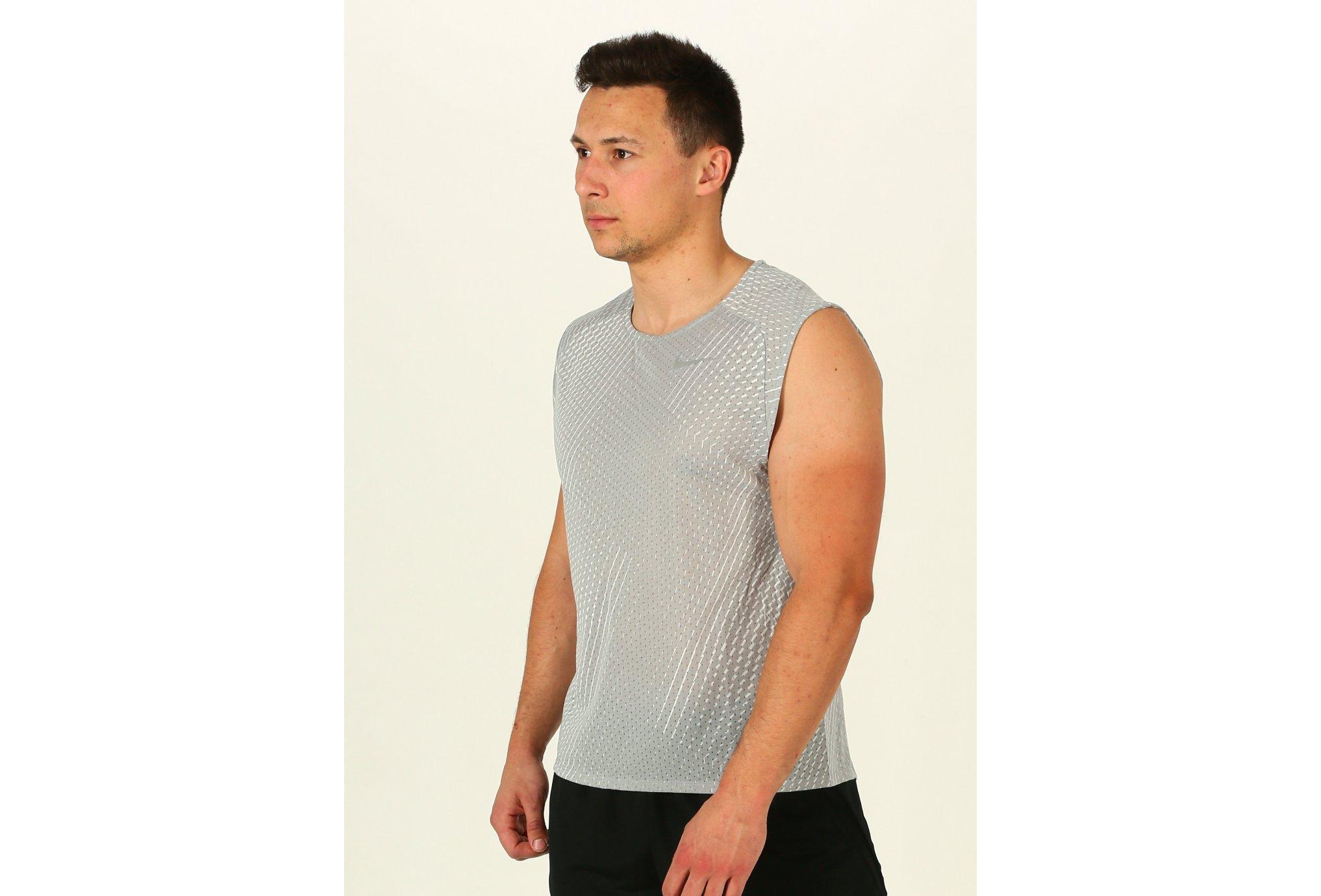 Nike Breathe Rise 365 Print M Diététique Vêtements homme