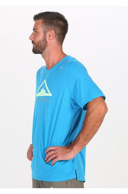 Nike camiseta manga corta Breathe Rise 365 Trail