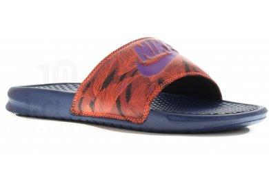 2896108e655 Nike Claquettes Benassi JDI M homme Bleu
