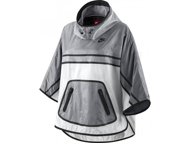 nike coupe vent poncho tech hyperfuse w pas cher v tements femme running vestes coupes vent. Black Bedroom Furniture Sets. Home Design Ideas
