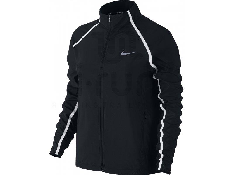 Nike Coupe-vent PR Woven Running W femme Noir pas cher