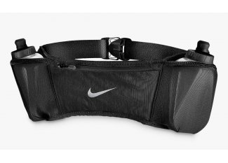 Nike Cinturón de hirdratación Double Pocket Belt