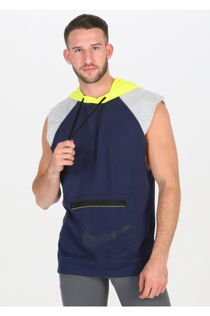 Nike sudadera sin mangas Dry Fleece