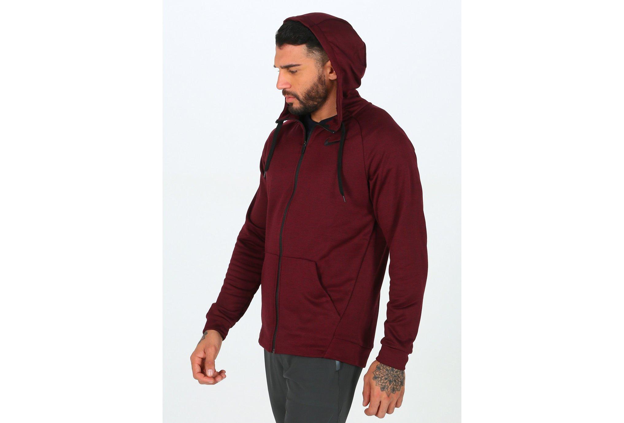 Nike Dry Hoodie FZ Fleece M Diététique Vêtements homme