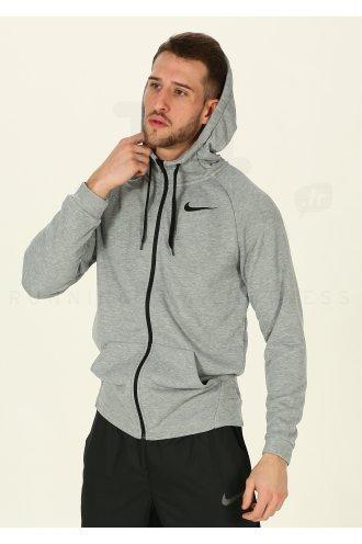 2dd054d623f22 Nike Dry Hoodie FZ Fleece M homme Gris/argent pas cher