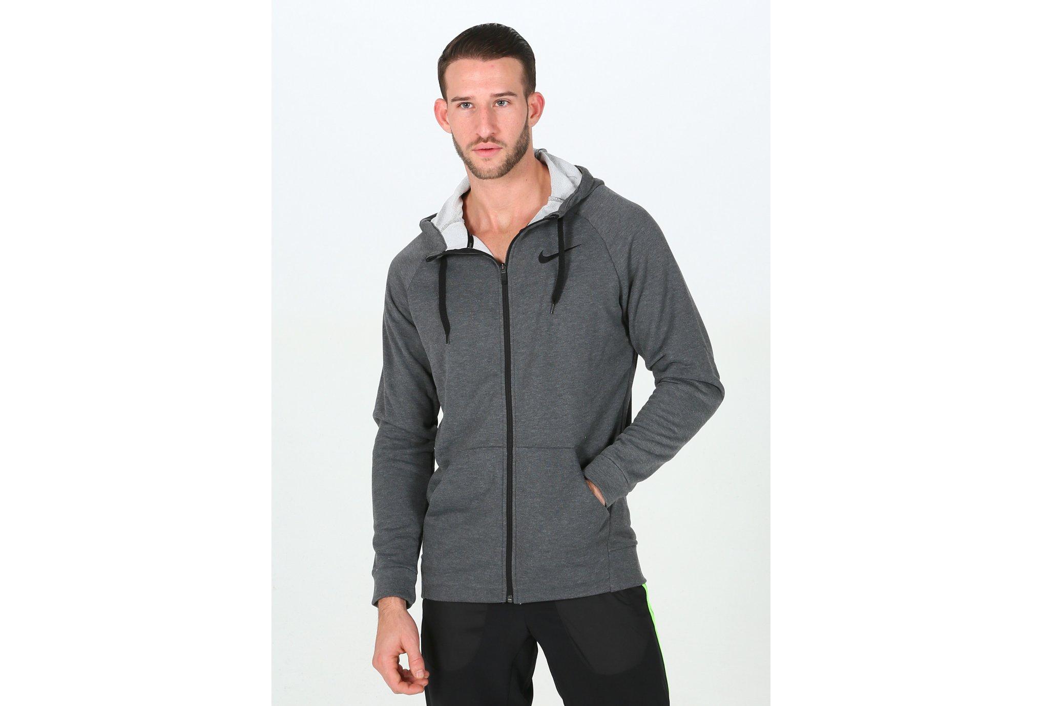 Nike Dry Hoodie FZ Fleece M vêtement running homme