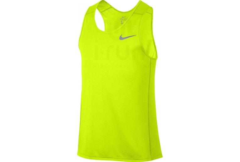 atractivo y duradero lista nueva bien baratas Nike Camiseta de tirantes Dry Miler Running