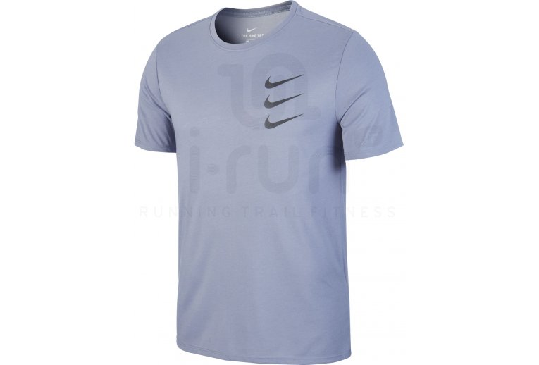 Camiseta Dry Run Nike Manga Corta Division ZXPikwOuT