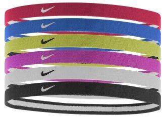 Nike Gomas de pelo Hairbands x6
