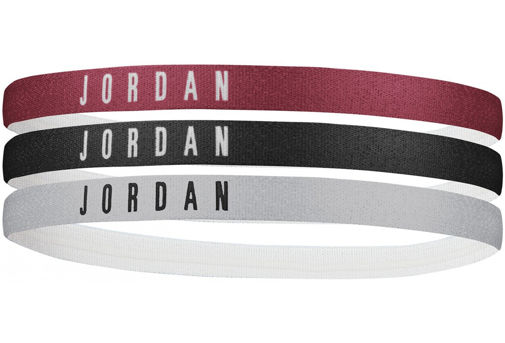 Nike Elastiques Jordan Headbands x3 Casquettes / bandeaux