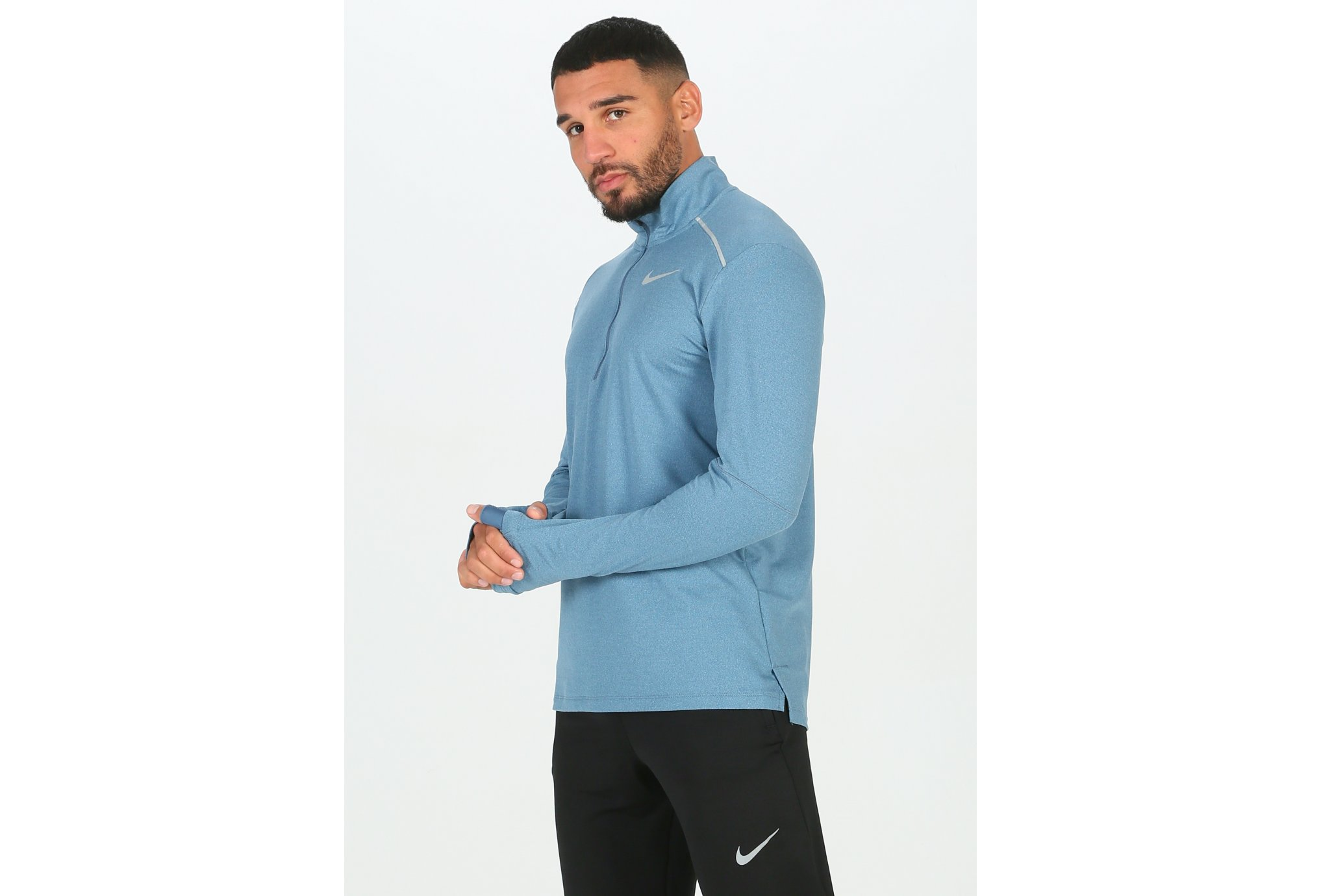 Nike Element Crew 3.0 1/2 Zip vêtement running homme